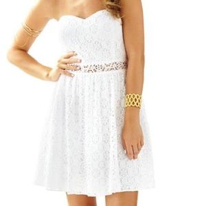 Lily Pulitzer Brett Dress in Resort White